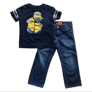 ⭐️ Boys Size 4T Outfit